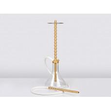 Кальян Shapes Evo golden лучшая тяга, золотое анодирование