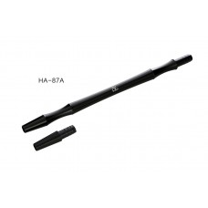 Мундштук для кальяна металл HA-87A (черный)