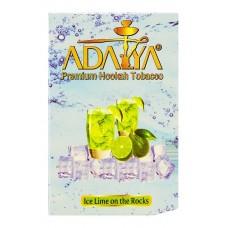 "Кальянный табак Adalya со вкусом Микса ""Ice Lime on the Rocks"" 50 гр."