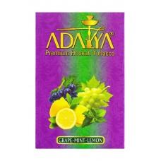 Кальянный табак Adalya со вкусом Винограда, мяты и лимона 50 гр.