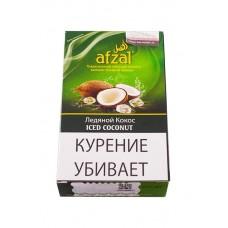 Кальянный табак Afzal  Iced Coconut (Ледяной кокос) - 50 гр