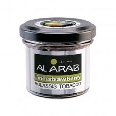 Кальянный табак  Al Arab Lime & Strawberry
