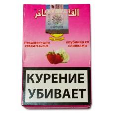 Кальянный табак Al Fakher Strawberry with creme