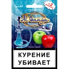 Кальянный табак Al Ganga  Ice  Double Apple - еврослот 15гр.
