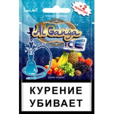 Кальянный табак Al Ganga  Ice  Tutti-frutti 15гр.