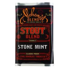 Кальянный табак Alchemist Stout Line   Stone Mint  100 гр.