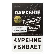 Кальянный табак Dark Side Медиум со вкусом  Strawberry Light, 100 гр.