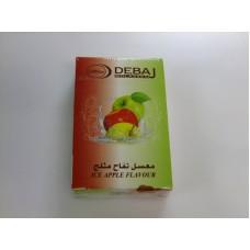 Кальянный табак Debaj Три ледяных яблока, 50 гр.