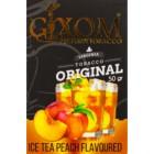 Кальянный табак Gixom Ice Tea Peach 50 гр.