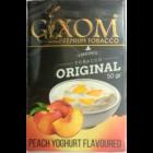 Кальянный табак Gixom Peach Yogurt 50 гр.