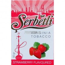 Кальянный табак Serbetli Strawberry Flavoured, 50гр.