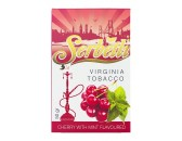 Кальянный табак Serbetli Cherry with Mint Flavoured, 50гр.