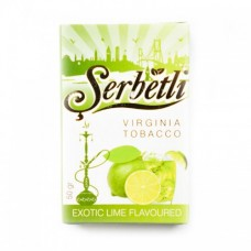 Кальянный табак Serbetli Exotic Lime Flavoured, 50гр.