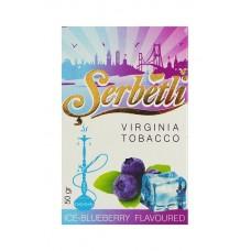 Кальянный табак Serbetli Ice-Blueberry, 50гр.