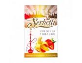 Кальянный табак Serbetli Banana Strawberry Flavoured, 50гр.