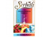 Кальянный табак Serbetli Ice Berry Peach Flavoured, 50гр.