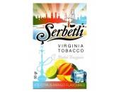 Кальянный табак Serbetli Ice Citrus Mango Flavoured, 50гр.