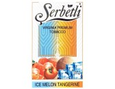 Кальянный табак Serbetli Ice Melon Tangerine Flavoured, 50гр.