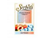 Кальянный табак Serbetli Ice Peach Flavoured, 50гр.