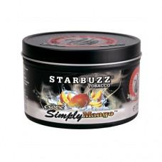 Кальянный табак Starbuzz Tobacco   Simply Mango  250